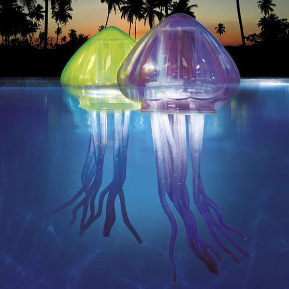 Illuminating Jellyfish Floaters