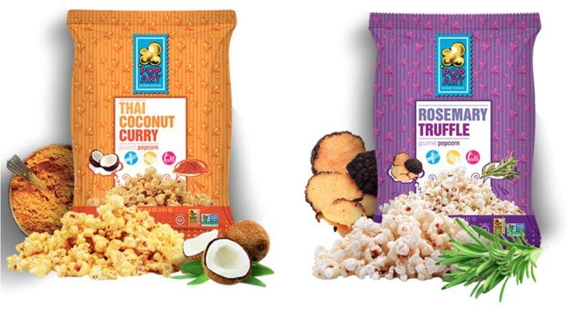 Cultural Popcorn Snacks : Pop Art Snacks