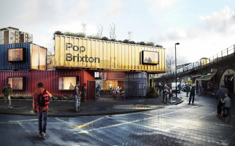 Shipping Container Campuses
