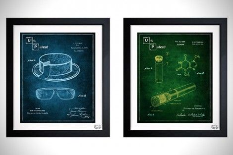Pop Culture Blueprint Art