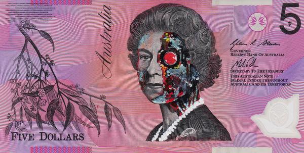 Pop Culture Queen Graffiti