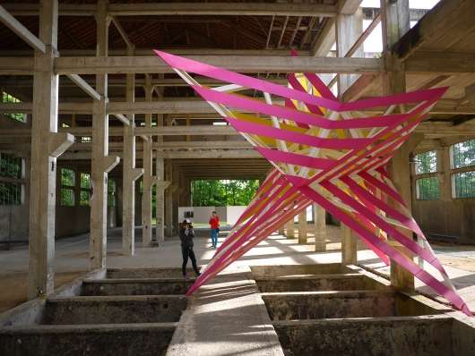 Giant Star-Shaped Installations