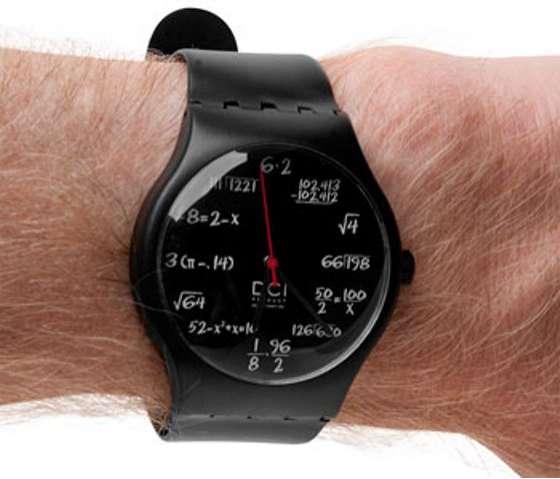 Math Major Watches