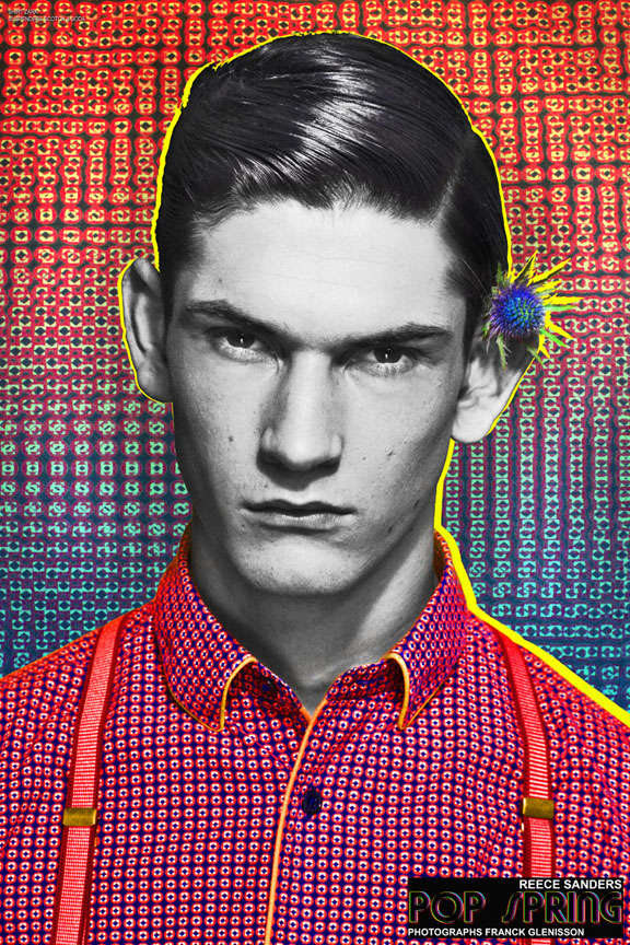 Electrifying Warhol-Inspired Portraits