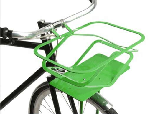 Pop-Up Bicycle Basket