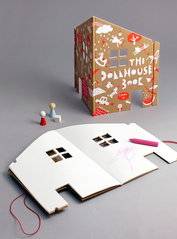 Pop-Up Notebook Dollhouses