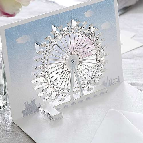 3D British Scene Stationery