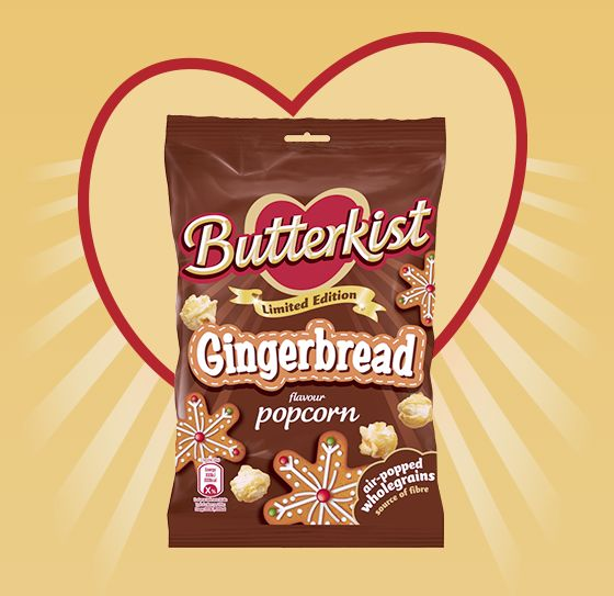 Gingerbread-Flavored Popcorn