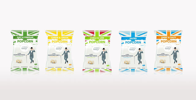 Gentlemanly Snack Branding