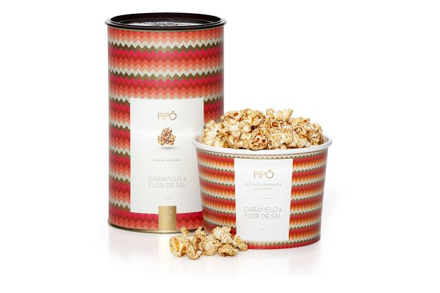 Upscale Popcorn Tins