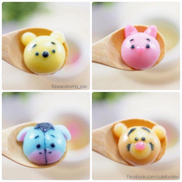Disney Character Dumplings