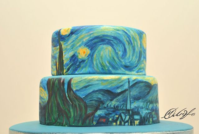 Famous Painting Cakes