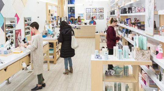 Crowdsourced Pop-Up Beauty Shops