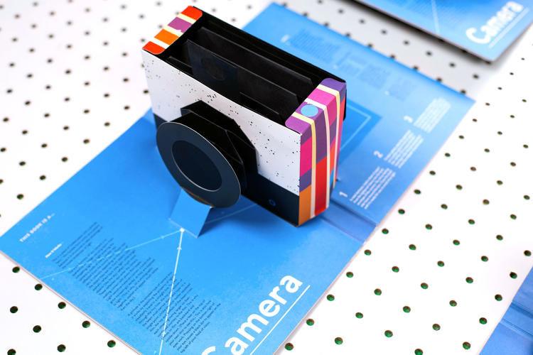 Foldable Book Cameras