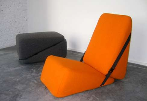 Belted Modular Seating
