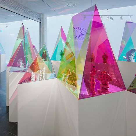 Prismatic Display Cases