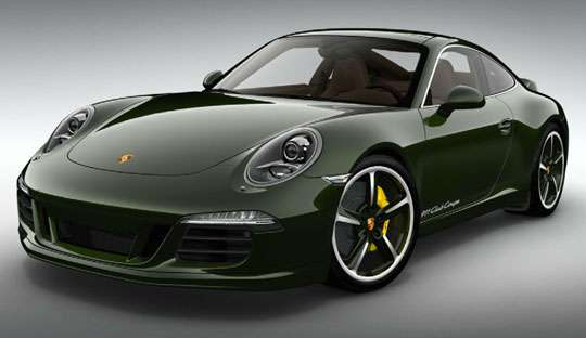 porche 911 club coupe 60th anniversary