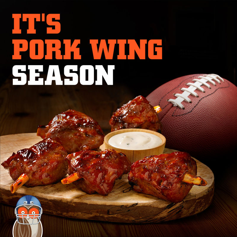 Pork-Based Barbecue Wings