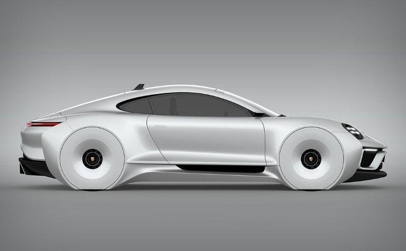 Futuristic Butterfly Door Vehicles