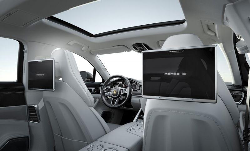 Massive Rear Seat Touchscreens