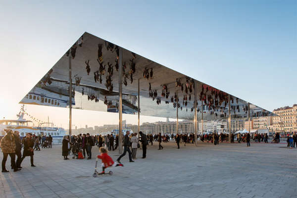Mirrored Canopy Structures