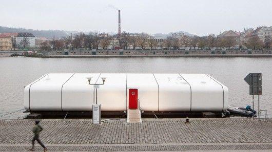 Floating Off-Grid Homes