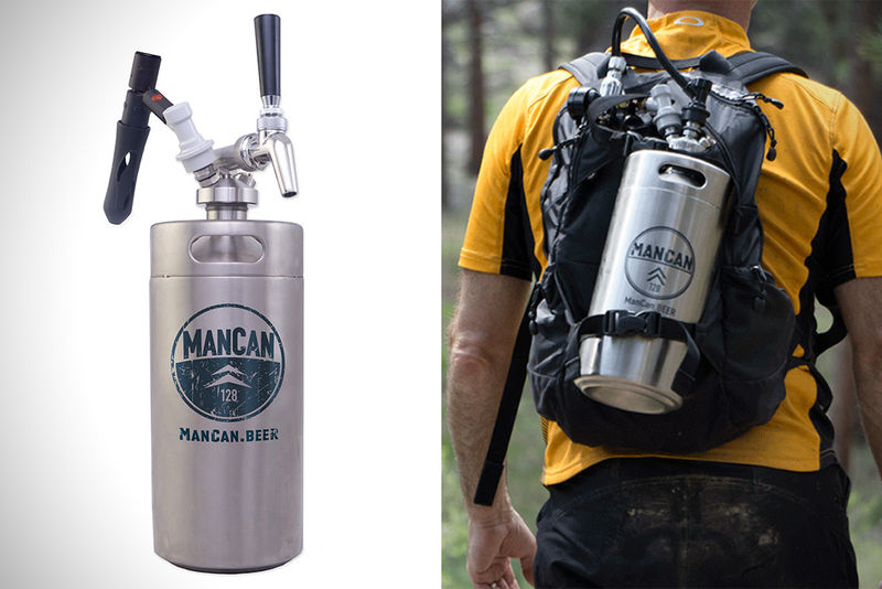 Portable Backpack Kegs : portable backpack