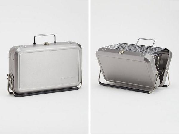 Sleek Barbecue Suitcases