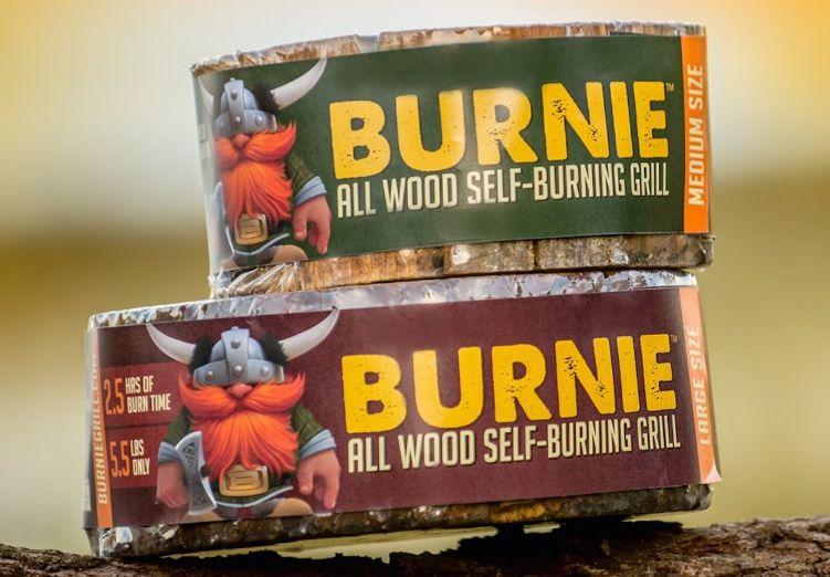 Rapid-Burning Portable Campfires