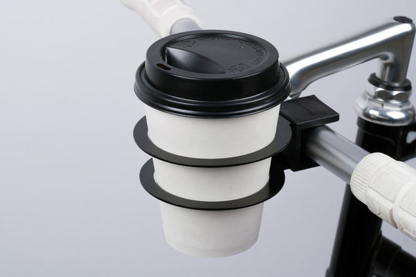 Portable Cyclist Coffee Holders