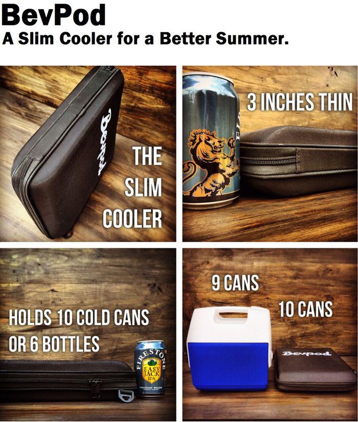 Revolutionized Slim Coolers