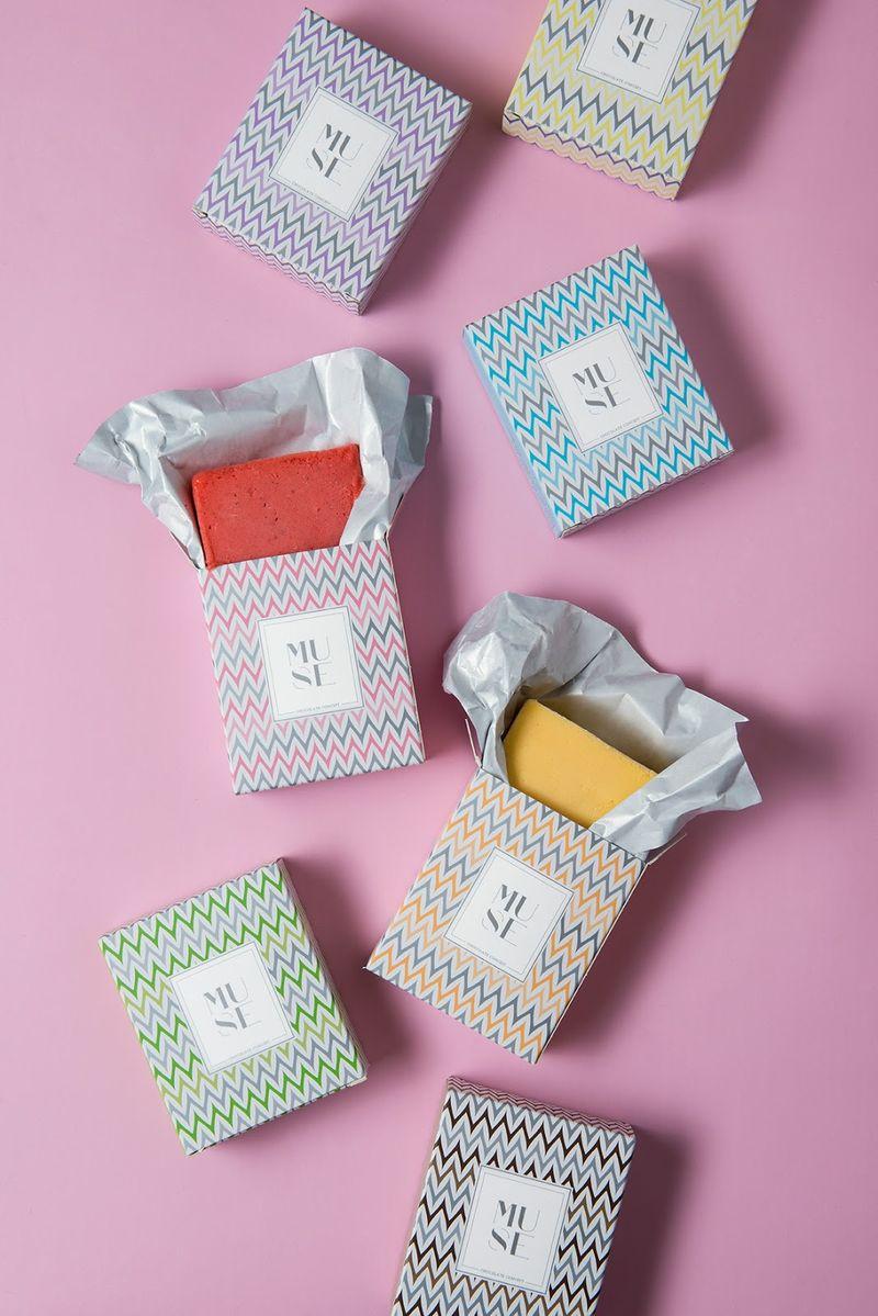 Handheld Ice Cream Blocks