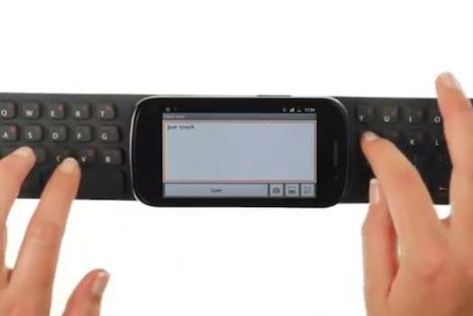 Portable Keyboard by Elecom and One2Touch
