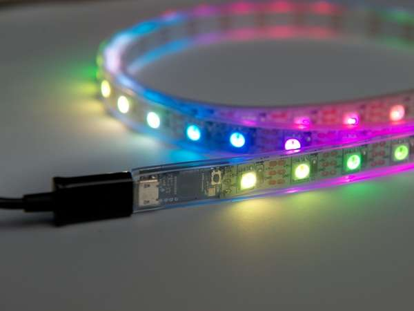 Illuminated Pixel Ribbons