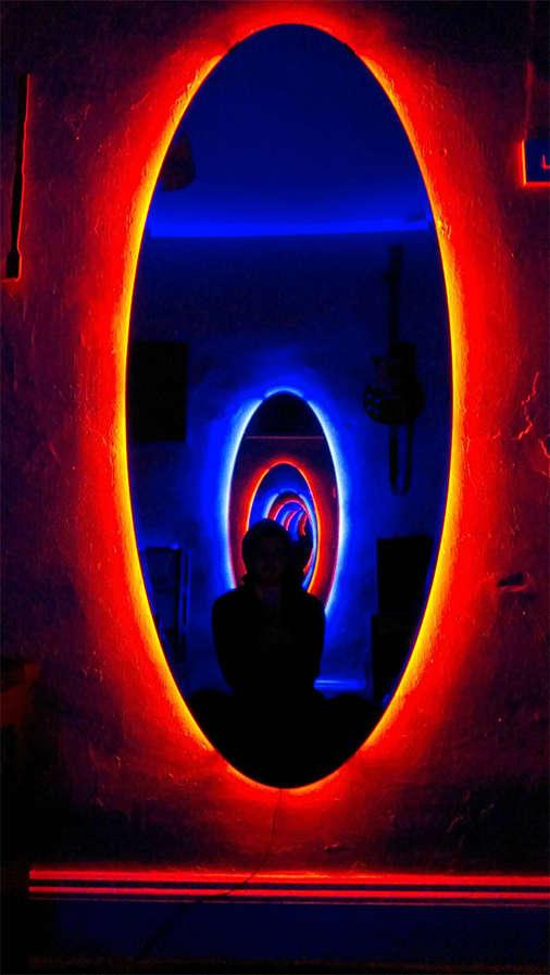 Diy Time Travel Mirrors Portal Mirrors