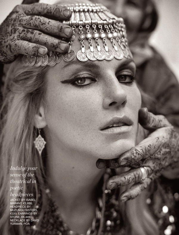 Opulent Tribal Princess Editorials
