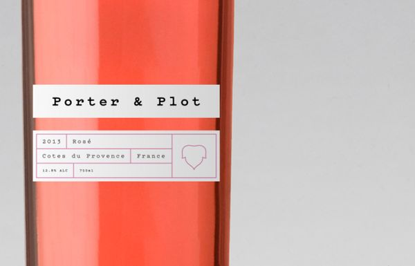 Porter & Plot Wine Packaging