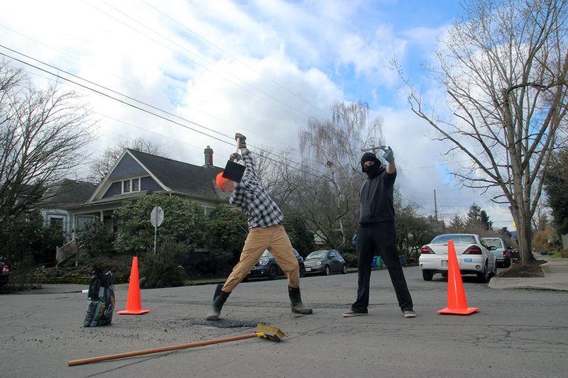 Vigilante Urban Repair Initiatives