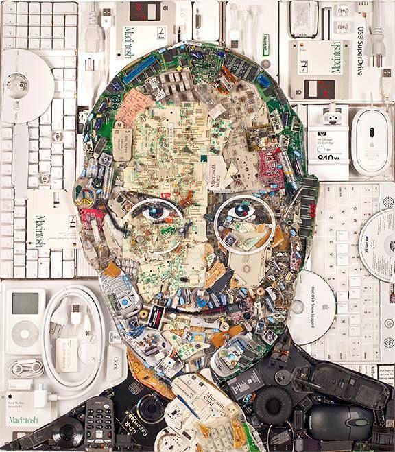 Tech Leader E-Waste Portraits