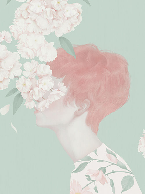 Whimsically Pale Illustrations