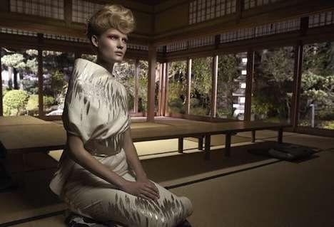 Kimono-Inspired Couture