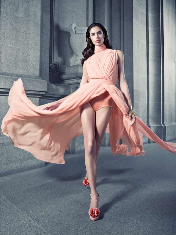 Wind-Blown Shoe Editorials