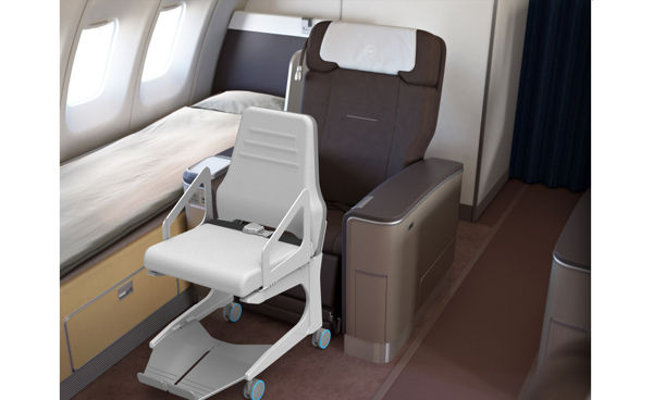Efficient Aircraft Wheelchairs