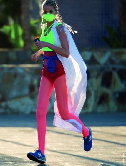 Neon-Printed Postmodern Fashion