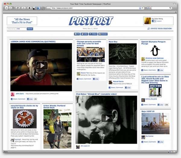 Facebook Newspapers