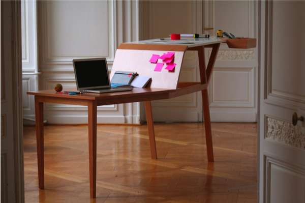 Ascending Surface Escritoires Postures Desk By Jeremy