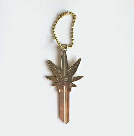 Pot Leaf House Keys