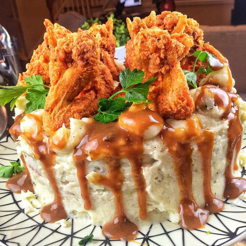 Poultry Potato Cakes