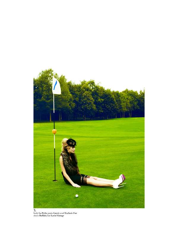 Glam Golf Pictorials