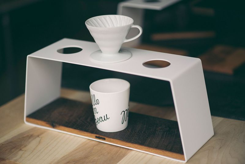 Artisanal Coffee Brewing Stands